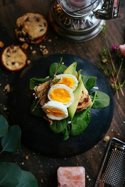 Sandes com ovo